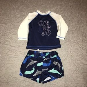 ⭐️ 3-6months swim outfit.